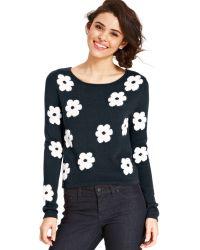 Keds - Juniors Floral-print Sweater - Lyst