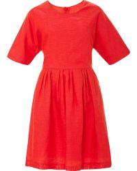 Kule Scout Dress with Shaped Waist Seam - Lyst