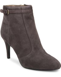 Nine West Mainstay Suede Ankle Boots - Lyst
