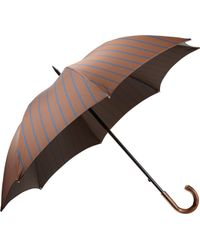 Barneys New York Striped Stick Umbrella - Lyst