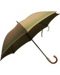 Barneys New York - Striped Umbrella - Lyst