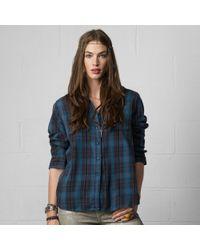 Denim & Supply Ralph Lauren Plaid Ricky Utility Shirt - Lyst