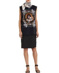 Givenchy Madonna And Angels Square Print Scarf - Lyst