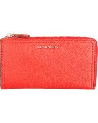 Givenchy Pandora Zip Around Wallet - Lyst