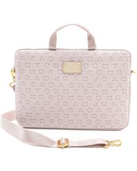 Marc By Marc Jacobs Dreamy Logo Neoprene 15 Computer Commuter Case - Pink