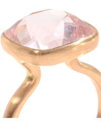 Marie-hélène De Taillac - Quartz and Rose Gold Ring - Lyst