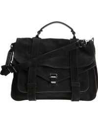 Proenza Schouler - Ps1 Large Suede - Lyst
