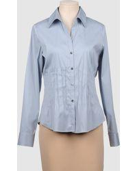 Theory Long Sleeve Shirt - Lyst