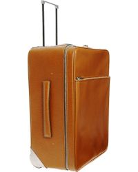 Valextra Small Trolley - Brown