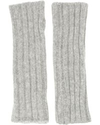 Barneys New York Chunkyknit Arm Warmers - Lyst