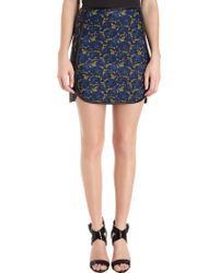 Cynthia Rowley A-Line Skirt in Lace Print - Lyst