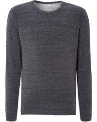 Diesel Crew Neck Knitted Sweatshirt - Lyst