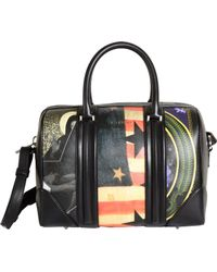 Givenchy Flag Mix Medium Lucrezia Duffel - Multicolour