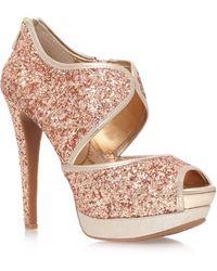 Jessica Simpson Smashh High Heel Platform Shoes - Lyst