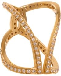 Maiyet - Diamond Butterfly Ring - Lyst