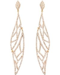 Maiyet - Pave Diamond Amazon Journey Earrings - Lyst