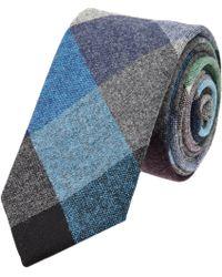 Thom Grey - Multicolor Plaid Tie - Lyst
