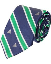 Thom Grey - Antenna Embroidered Tie - Lyst