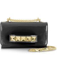 Valentino Va Va Voom Mini Patent Leather Shoulder Bag - Lyst