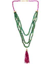 Rosantica Himalaya Agate Necklace - Purple