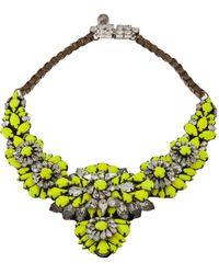 Shourouk Apolonia Necklace - Green