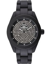 Toy Watch | Velvety Full Pave Crystal Silicone Watch | Lyst