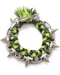 Joomi Lim - Punk Carnival Braided Bracelet - Lyst