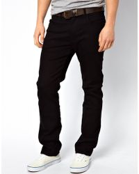 Lee Jeans | Jeans Blake Straight Fit Stay Black Stretch | Lyst