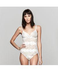 Lover - Lace Bodysuit - Lyst