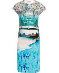 Mary Katrantzou 'Discosoma Sunset' Dress multicolor - Lyst