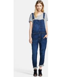 Current/Elliott The Ranch Hand Overalls - Lyst
