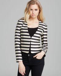 Dolce Vita - Blazer Macyn Silk Stripe - Lyst
