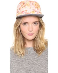Eugenia Kim Darien Floral Hat - Lyst