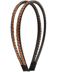 Forever 21 - Double Braided Headband - Lyst