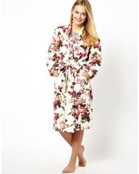 Joules - Leymore Dressing Gown - Lyst