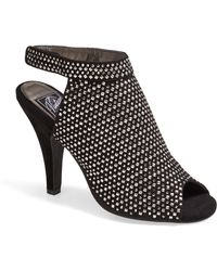 Jeffrey Campbell Norene Jeweled Suede Bootie - Lyst
