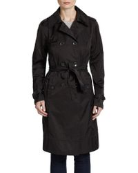 Rainforest Belted Trench Coat - Lyst