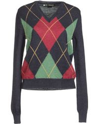 DSquared² Long Sleeve Jumper - Lyst