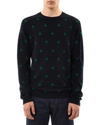 Chinti & Parker Star Intarsia Cashmere Sweater - Lyst