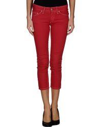 Etoile Isabel Marant Cropped Skinny Denim Pants - Lyst