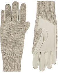 Helmut Lang - Linear Transfer Gloves - Lyst