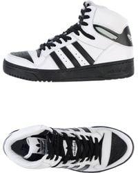 Jeremy Scott for adidas - Hightop Sneaker - Lyst