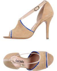 Lauren by Ralph Lauren High-Heeled Sandals - Lyst