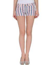 M Missoni Denim Shorts - Lyst