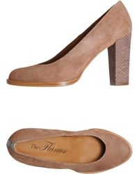 The Flâneuse Court brown - Lyst