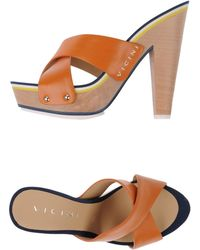 Vicini Platform Sandals - Lyst