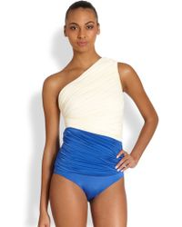 Clube Bossa One-Piece One-Shoulder Swimsuit - Lyst