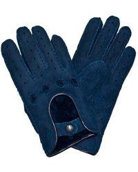 Cynthia Rowley Gloves Shearling - Blue
