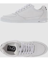 D&G White Trainers - Lyst