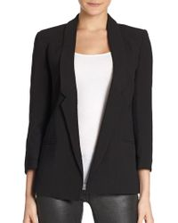 French Connection Fast Connie Tuxedo Jacket - Lyst